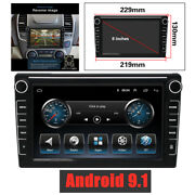8and039and039 Inch Ultra Thin Car Stereo Mp5 Gps Navigation Wifi Radio Player Android 9.1