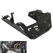 Engine Chassis Guard Skid Plate Belly Pan For Yamaha Fz07 Mt-07 Tracer Xsr700