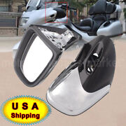 Motorcycle Abs Leftandright Rearview Side Mirror For Bmw K1200 Lt 1200 1999-09 Usa