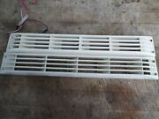 Boat Marine Louvered Air Vents White 16 X 2 - Used