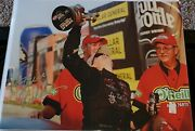 Erica Enders Signed 8.5 X 11 Nhra Pro Stock Champ Ee04