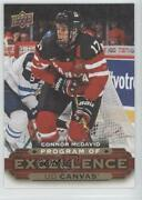 2015-16 Upper Deck Ud Canvas Program Of Excellence Connor Mcdavid C270 Rookie