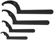 Williams Ws-474 4-piece Adjustable Hook Spanner Wrench Set