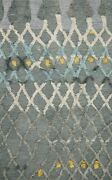 9and039 3 X 13and039 Loloi Rug Symbology Grey Multi 100 Wool Pile Hand Knotted