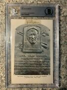 Walter Johnson Signed Autograph - Bas Authenticated