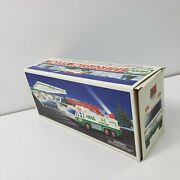 1996 Hess Emergency Truck - Lights And Sounds Tested Nib