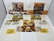 Hancock County Creamery Ice Cream Boxes And Butter Wrapperd Maine Dairy
