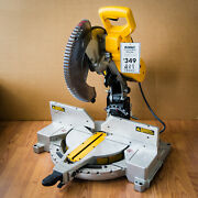 Local Pickup Only Dewalt 12 Double-bevel Compound 15 Amp Miter Saw - Dw716