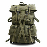 Wwii Us Army M1944 Field Combat Pack Bag Field Cargo Pack M-1944 Suspenders