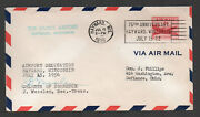 1956 Hayward Wi Musky Field Airport Dedication Cover Aamc Ac55 Only 130 G3616