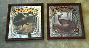 Pigand039s Eye Beer Mirrors No. 2 And 3 - Moose - Whitetail