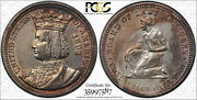 Early - 1893 Silver Commemorative Quarter - Pcgs Genuine Cleaned - Au Detail