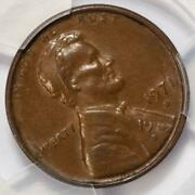 1971 D Pcgs Au58 Double Struck Rotated In Collar Lincoln Cent Mint Error 2 Dates