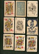 Rare 1940 Netherlands Troef Whist 11 Dutch Playing Cards W/ Xrare Joker And Box