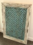 Antique Solid Mango Wood Indian Wall Panel Wall Decor Home And Living.