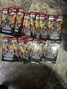 Yugioh Blazing Vortex Pack 1st Edition Blister Lot Of 19 Free Shipping