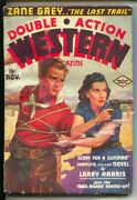 Double Action Western 1/1936-bondage Cover By George Gross-the Last Trail, P...