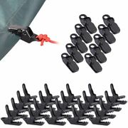 10/20 Packs Camping Awning Canopy Clamp Tarp Clip Car Boat Cover Emergency Tent