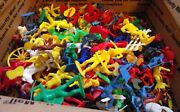Vintage Toy Soldiers Indians Cowboys And More Over 400 Pieces Some Marx
