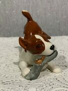 Beswick Dog Terrier Playful Puppies Play Time Model No. 2948 White And Tan Gloss
