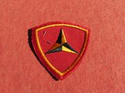 Usmc 3rd Marine Division Embroidered Patch Store Tag Best On Ebay True Ww 2
