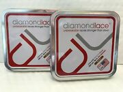 2 Pair Diamondlace Unbreakable Heavy Duty Hiking Work Boot Shoe Laces 96andrdquo Brown