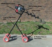 Mobile Electric Post Hole Digger W/6-inch Auger