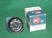 Nos Ac 68 69 70 71 Corvette Water Temp Temperature Gauge Green Thermo Gm 6490857