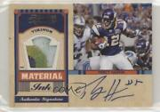 2011 Timeless Treasures Material Ink Jerseys Prime /10 Percy Harvin 5 Auto