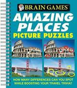 Brain Games - Picture Puzzles Amazing Places - How Many Differences Can You