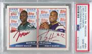 2009 Topps Premiere Dual Red Ink Jeremy Maclin Percy Harvin Psa 10 Rookie Auto