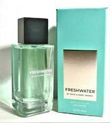 Bath And Body Works Freshwater Menand039s Collection Cologne Spray 3.4 Oz Nib
