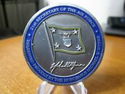 Usaf 21st Secretary Of The Air Force Michael W Wynne Challenge Coin 761g.