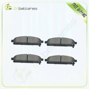 4x Ceramic Brake Pads Front For 2004-2009 Nissan Quest 1997-2003 Infiniti Qx4