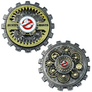 20-gb Ghostbusters Moving Gears Challenge Coin