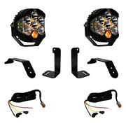 For Jeep Gladiator 20 Light Kit Lp6 6.5 2x90w/4.14w Round Driving/combo Beam