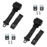 For Ford Maverick 71-77 2-point Standard Buckle Retractable Bucket Seat Belts