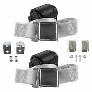 For Buick Roadmaster 57-58 2-point Airplane Buckle Retractable Bucket Seat Belts
