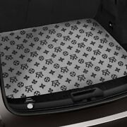 For Bmw X1 13-15 Fashion Auto Mat Carpeted Black/gray Cargo Mat Bench Down