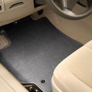 For Honda Ridgeline 17-20 Carpeted 1st And 2nd Row Quick Silver Floor Mats