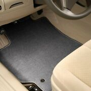 For Honda Ridgeline 06-14 Carpeted 1st And 2nd Row Quick Silver Floor Mats