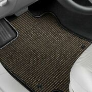 For Mazda B2200 87-93 Floor Mats Berber Auto Mat 1st And 2nd Row Black/neutral