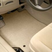 For Mitsubishi Van 87-90 Carpeted 1st And 2nd Row Beige Floor Mats