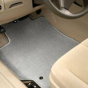 For Mitsubishi Van 87-90 Carpeted 1st And 2nd Row Light Gray Floor Mats