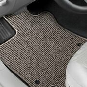 For Ford C-max 13-18 Floor Mats Berber Auto Mat 1st And 2nd Row Light Gray