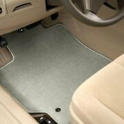 For Honda Ridgeline 17-20 Carpeted 1st And 2nd Row Dove Gray Floor Mats