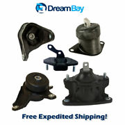 08-14 For Acura Tsx / For Honda Accord Crosstour 2.4l Engine And Trans Mount 5pcs