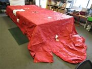 Sun Tracker 05-06 Party Barge 25 30822-02 Pontoon Cover Red 289 X 131 Boat