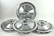 Set Of 4 Vintage 1960and039s-70and039s Mercury Cougar 15 Wheel Hub Caps Good Condition