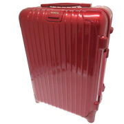 Authentic Rimowa 853.52 Salsa Deluxe 35l Carry Bag Red Polycarbonate 0139